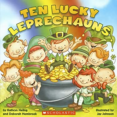 Ten Lucky Leprechauns 9780545436489