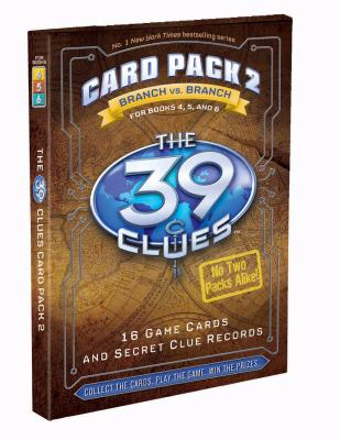 The 39 Clues Card Pack 2: Branch vs. Branch 9780545088459