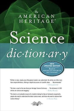 The American Heritage Science Dictionary 9780547470924