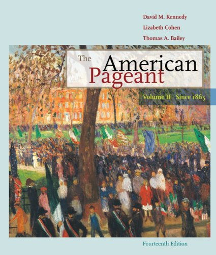 the american pageant 13th edition chapter Ap us history review and study guide for american pageant 14th edition [mill hill books] on amazoncom free shipping on qualifying offers study guide and review for advanced placement.