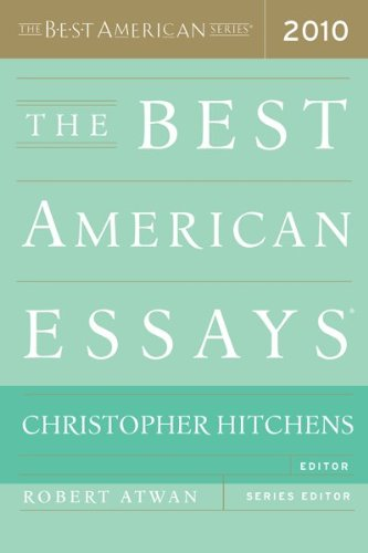 The Best American Essays 9780547394510