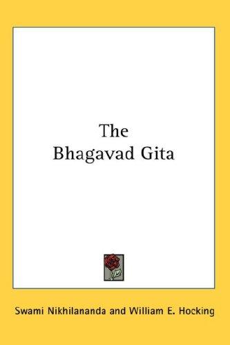 The Bhagavad Gita 9780548082829