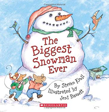 The Biggest Snowman Ever [With Paperback Book] 9780545163507