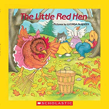 The Little Red Hen [With Paperback Book] 9780545005074