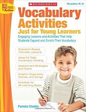 Vocabulary Activities Just for Young Learners, Grades K-2 1839373