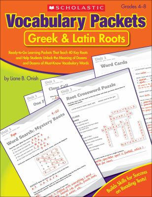 Vocabulary Packets: Greek & Latin Roots 9780545124126