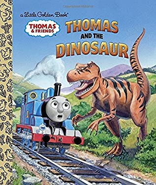 Thomas and the Dinosaur (Thomas & Friends) (Little Golden Book)