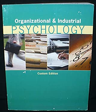 Organizational & Industrial Psychology, Custom Edition