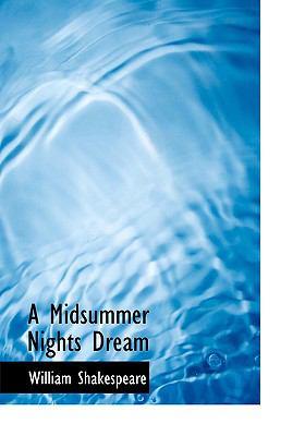 A Midsummer Night's Dream 9780554723969