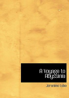 A Voyage to Abyssinia 9780554214290
