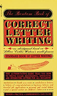 Bantam Book of Correct Letter Writing 9780553270860