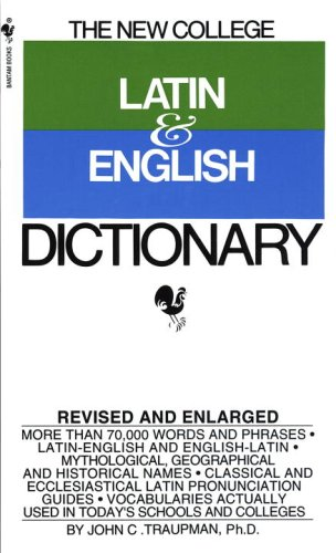 Bantam New College Latin and English Dictionary 9780553573015
