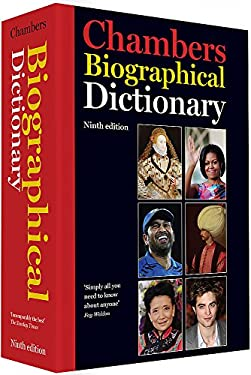 Chambers Biographical Dictionary 9780550106933