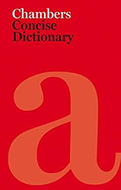 Chambers Concise Dictionary [With Access Code] 9780550103345