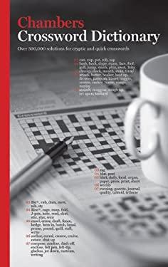 Chambers Crossword Dictionary 9780550100818
