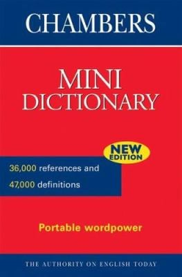 Chambers Mini Dictionary 9780550102188