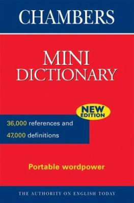 Chambers Mini Dictionary