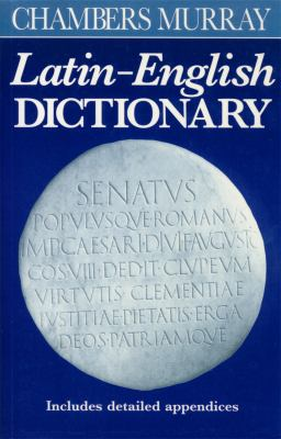 Chambers Murray Latin-English Dictionary 9780550190031