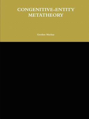 Congenitive-Entity Metatheory 9780557249541