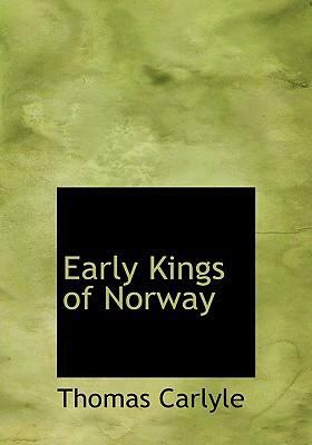 Early Kings of Norway 9780554302041