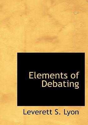 Elements of Debating 9780554248646