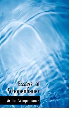 Essays of Schopenhauer 9780554240688