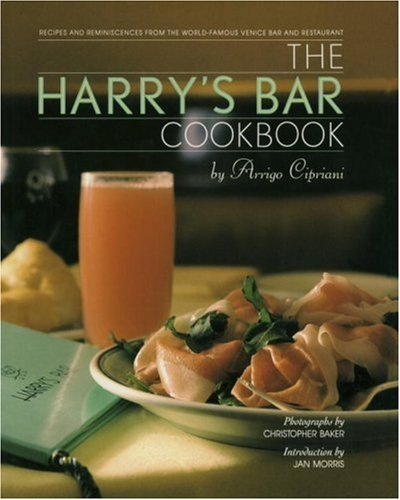 Harry's Bar Cookbook 9780553070309