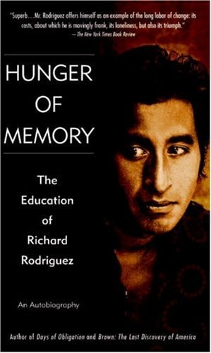 Hunger of Memory: An Autobiography 9780553272932