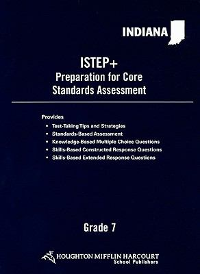 Indiana ISTEP+ Preparation for Core Standards Assessment, Grade 7 9780554021140