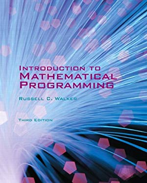 Introduction to Mathematical Programming 9780558859145