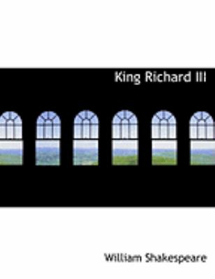 King Richard III 9780554852980