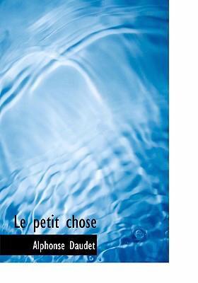 Le Petit Chose 9780554275154