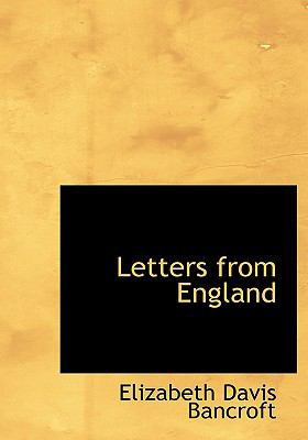 Letters from England 9780554303765