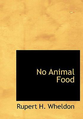 No Animal Food 9780554304076