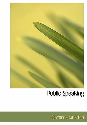 Public Speaking 9780554262963