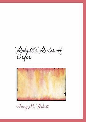 Robert's Rules of Order 9780554261263