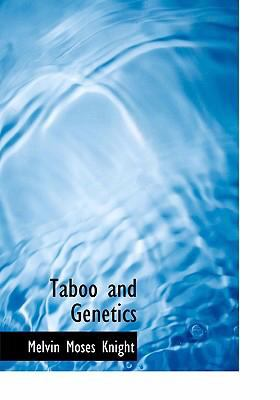 Taboo and Genetics 9780554304830