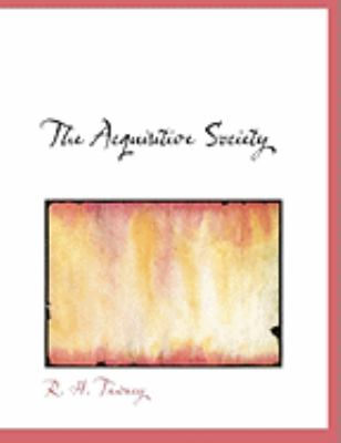 The Acquisitive Society 9780554818184