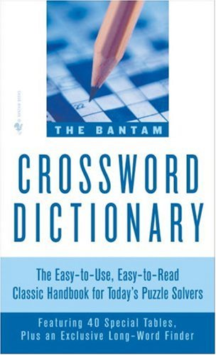 The Bantam Crossword Dictionary 9780553263756