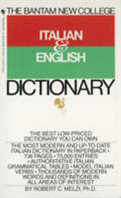 The Bantam New College Italian & English Dictionary 9780553279474