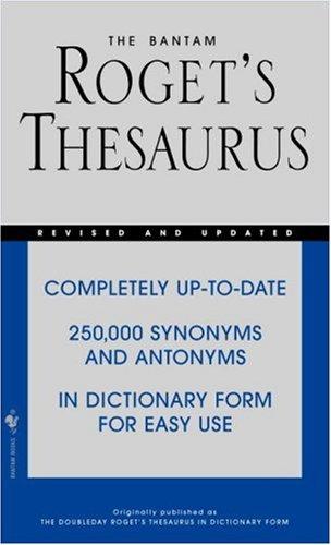 The Bantam Roget's Thesaurus