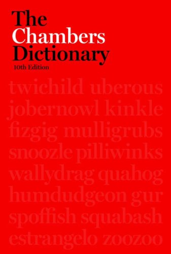 The Chambers Dictionary 9780550101853