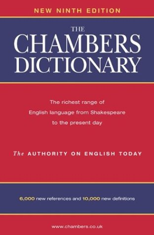 The Chambers Dictionary 9780550101051