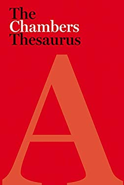 The Chambers Thesaurus 9780550103338