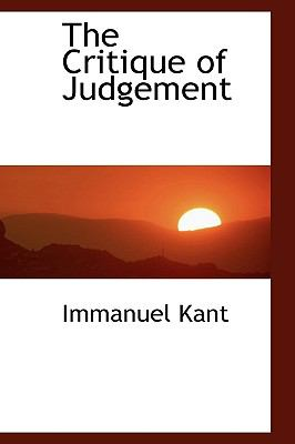 The Critique of Judgement 9780559105579