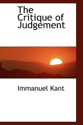 The Critique of Judgement 9780559105647