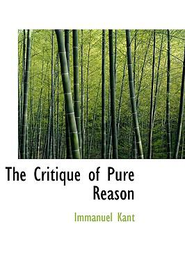 The Critique of Pure Reason 9780559078903