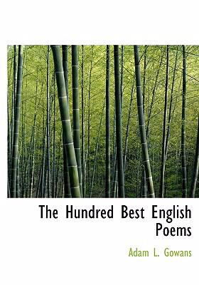 The Hundred Best English Poems 9780554265063