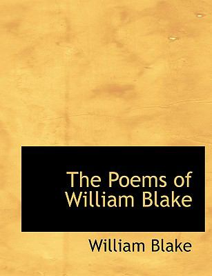 The Poems of William Blake 9780554738192