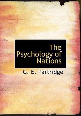 The Psychology of Nations 9780554293462